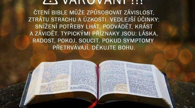 BIBLE: dÁ SE DNESKA ČÍST?